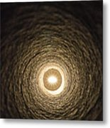 Eye At The End Of The Tunnel Metal Print