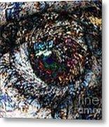 Eye Of A Hurricane Called You Metal Print