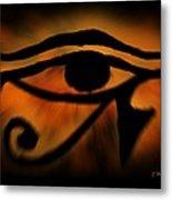 Eye Of Horus Eye Of Ra Metal Print