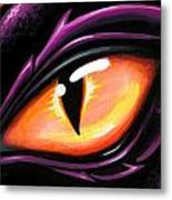Eye Of Sun Aura Metal Print