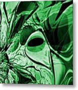Eye Of The Crystal Dragon Metal Print