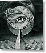 Eye Of The Dark Star Metal Print