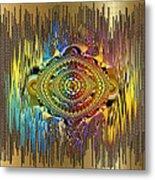 Eye Of The Rainbow Metal Print