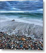 Eye Of The Storm Square Metal Print