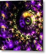 Eye Of The Swirling Dream Metal Print