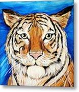Eye Of The Tiger Metal Print