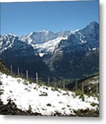 Eyeful Of The Eiger Metal Print
