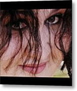 Eyes . . .the Window Metal Print