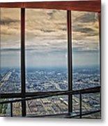 Eyes Down From The 103rd Floor Looking South Metal Print