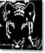 Eyes Of A Tiger 4 Metal Print