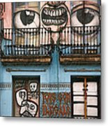 Eyes Of Barcelona Metal Print