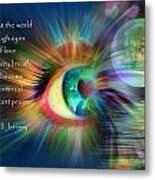 Eyes Of Love Metal Print