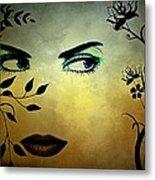 Eyes Of Mother Nature Metal Print