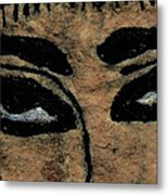 Eyes Of The Ancient Egyptian Musician Metal Print