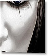 Eyes Of The Fool Metal Print