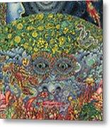 Eyes Of The Mind Metal Print