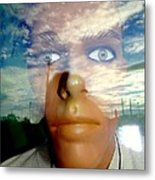Eyes On The Horizon Metal Print