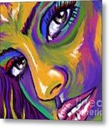 Eyes01 Metal Print