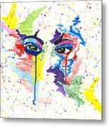Eyez Metal Print by Rishanna Finney