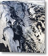 Eyjafjallajokull And The Glacier Metal Print