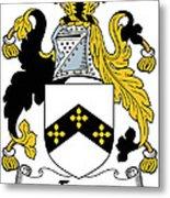 Eyre Coat Of Arms Irish Metal Print