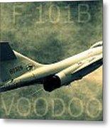 F-101b Voodoo Metal Print