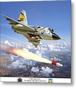 F-106 Delta Dart 5th Fis Metal Print