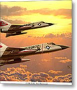 F-106 Delta Dart Intercept Metal Print