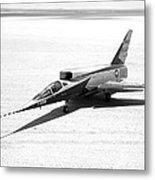 F-107a Airplane, Nasa Testing, 1959 Metal Print