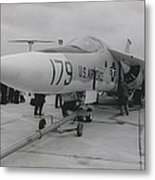 F-111 On Display At Le Bourget Metal Print