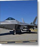 F-22 Raptor 2 Metal Print