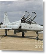 F-5 Tiger II Used As A Lead-in Trainer Metal Print