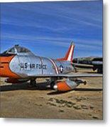 F-86h Sabre Metal Print