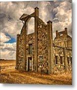F. Schott Stone Barn  Metal Print