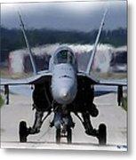 F18 Hornet 002 Metal Print