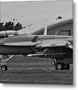 F18 Super Hornet Metal Print
