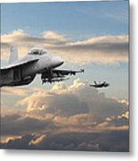 F18 - Super Hornet Metal Print