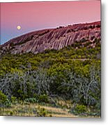F8 And Be There - Enchanted Rock Texas Hill Country Metal Print