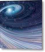 Fabric Of Space Metal Print