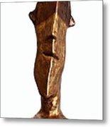 Fabulas Bronze And Gold Idol Metal Print by Mark M  Mellon