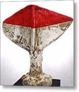 Fabulas Red Humanum  Metal Print