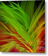 Fabulous Feathers  Metal Print