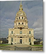 Facade Of The St-louis-des-invalides Metal Print
