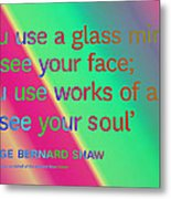 Face And Soul Definitions Metal Print