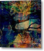 Face Cachee Metal Print
