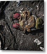 Face Doon In The Dirt Metal Print