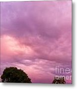 Face In The Clouds 1 Metal Print