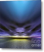 Face In The Clouds Metal Print
