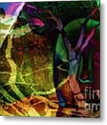 Face In The Rock Moon Glow And Night Vision Metal Print