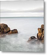 Ballycastle - Face In The Rock Metal Print